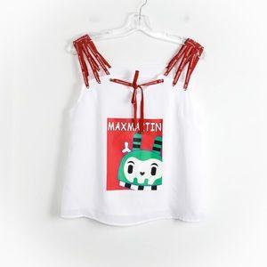 Max Martin movement designer brand red cartoon